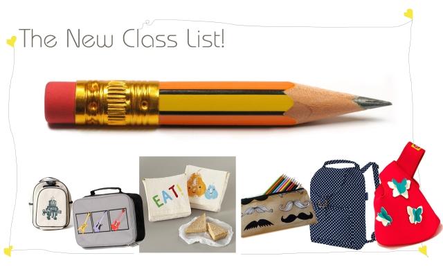 The New Class List