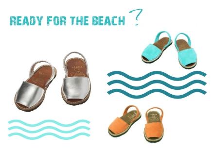 Readyfor the beach